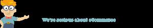 Vermarktbar.com Logo transparent, 860x160, schwarzer Schrift